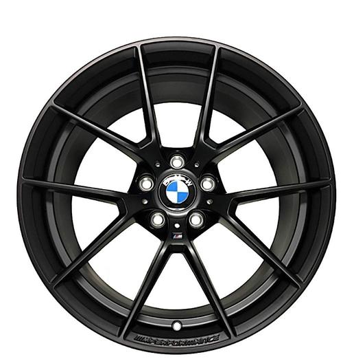 BMW純正 ///M Performance アロイホイール Y-スポーク 763M 19インチ マットブラック MATTBLACK F87 M2シリーズ 10JX19 ET40 リア側ホイール