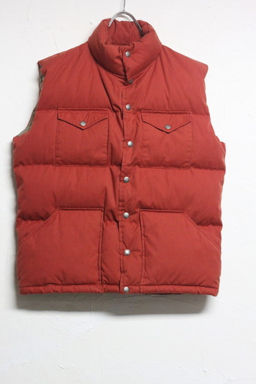 THE NORTH FACE 茶タグ down vest