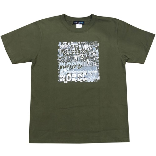 OIL WORKS WORD OF WORDS Tシャツ(サイズM)