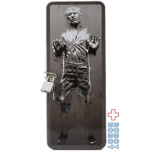 スター・ウォーズ ハン・ソロ カーボナイト 鍵付き 缶 ロッカー
