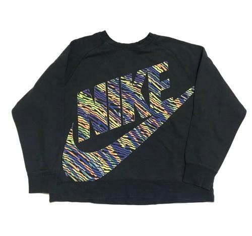 NIKE ナイキ ビッグサイズ ビンテージ スウェット グラデーション ビッグロゴ ヴィンテージ 90年代(2XL)