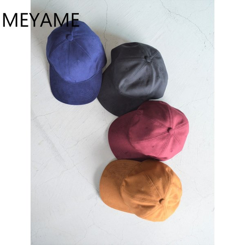 MEYAME/メヤメ・ライクアスエードキャップ