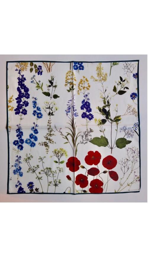 ASEEDONCLOUD/アシードンクラウド mogamibana Handkerchief / Pressed Flower