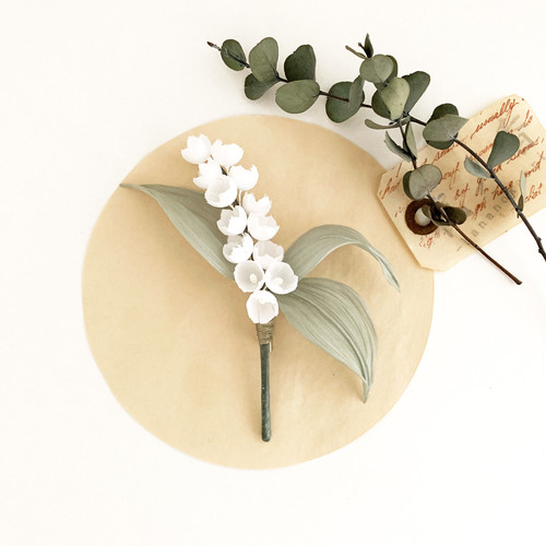 """Corsage : コサージュ """" Lily of the valley. すずらん """""""