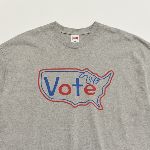 """VOTE USA"" BIG TEE - GREY"