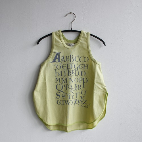 《eLfinFolk 2021SS》Maktub tank top / lemon