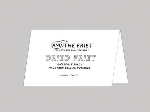 FOLDED MESSAGE CARD