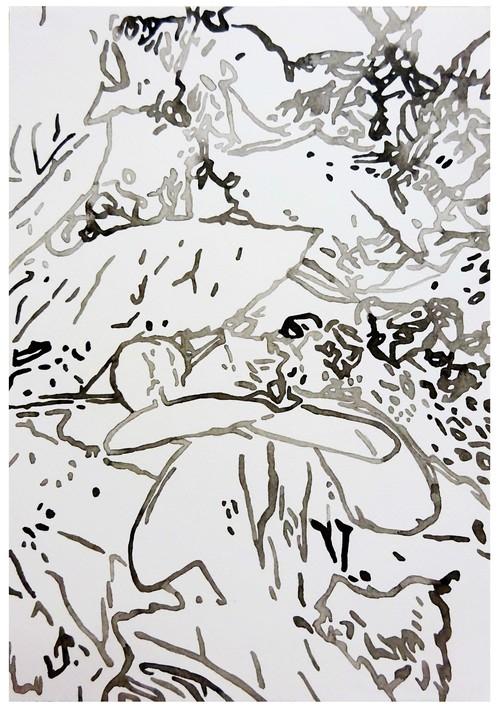 大橋麻里子 / Mariko Ohashi《drawing-118》