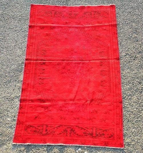 トルコ絨毯ヴィンテージラグ TEBRA3 1890×1160