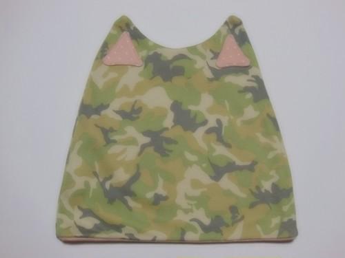 ネコ耳ケア帽子(CF×PKD)