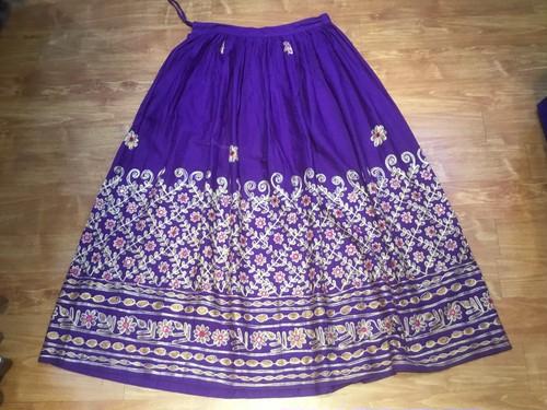 レーヨン刺繍スカートB2223