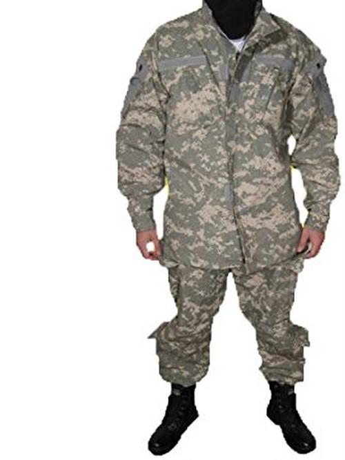 ACU UPC 迷彩柄 BDU 迷彩服 戦闘服 ズボン&ジャケット 上下セット サイズL