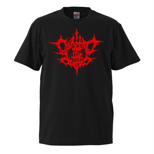 COALTAR OF THE DEEPERS - BLACK METAL LOGO (2nd Edition) T SHIRT [BIG SIZE]