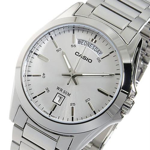 【希少逆輸入モデル】 カシオ CASIO クオーツ メンズ 腕時計 MTP-1370D-7A1VDF シルバー シルバー