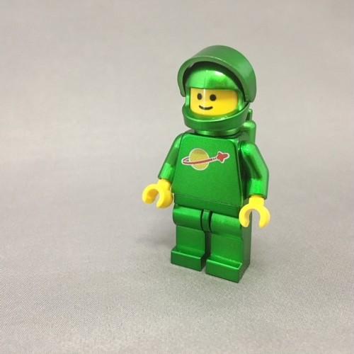 LEGO レゴ スペースマン・グリーンメタ(ハンドメイド)