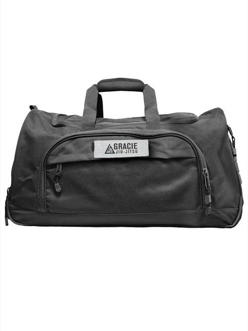 予約注文受付中!送料無料!グレイシー Black Large Duffle Bag|柔術、格闘技バッグ