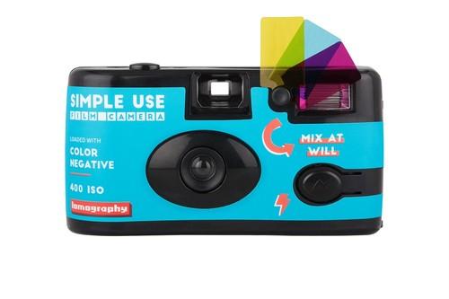 【レンズ付きフィルム】Lomography(ロモグラフィー) SIMPLE USE FILM CAMERA COLOR NEGATIVE 400 36枚撮り