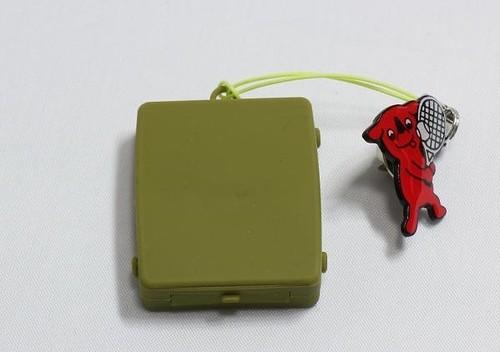 """触感時計""""タックタッチ"""" ストラップ型 オリーブ・グリーン 針も文字板も表示も音も無い、触感(振動)で時刻を伝える全く新しい感覚の時計です。"""