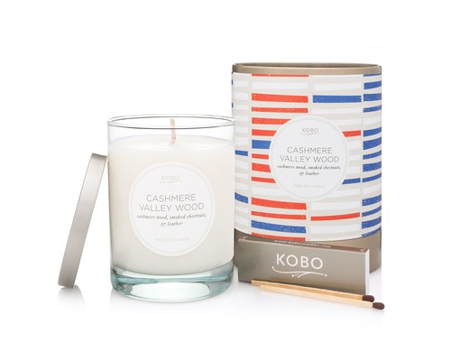 KOBO Cashmere Valley Wood CANDLE