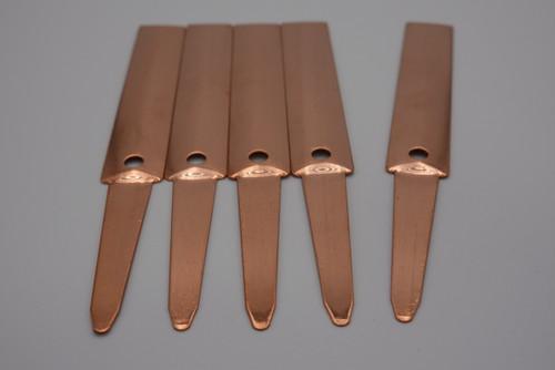 銅製プランツタグ 5枚入り