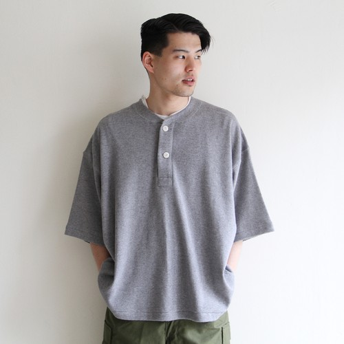 is-ness【 mens 】2way henly neck