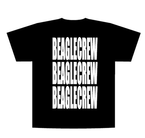 BEAGLE CREW Tシャツ(ブラック)