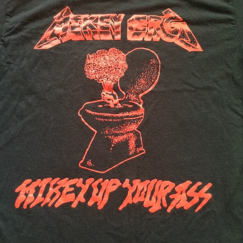 mikey erg / mikey up your ass t-shirt