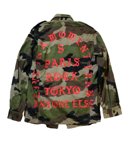 """LIVE IN A MOMENT"" KAMO F2 JACKET"