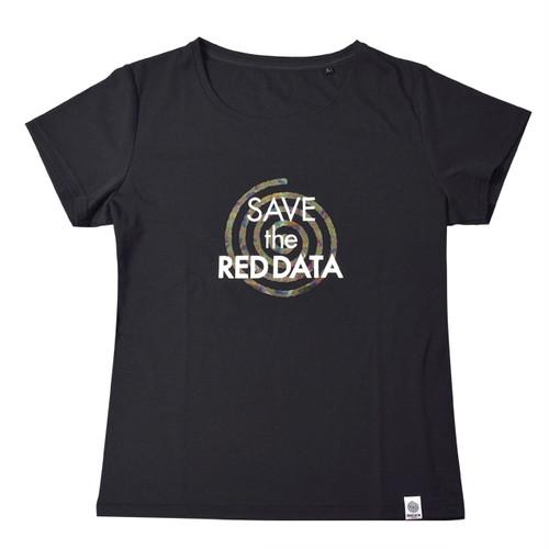 RED DATA Tシャツ Women's(ブラック)