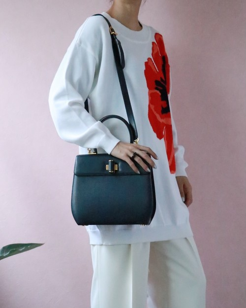 Salvatore Ferragamo square 2way bag