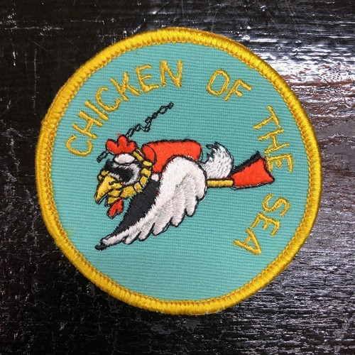 70's CHICKEN OF THE SEA Vintage Patch チキン野郎 ワッペン ビンテージ