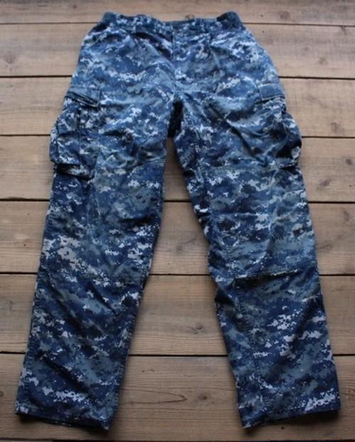 00's Trouser, Working, US NAVY デジカモ 【Fj1615】