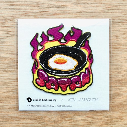 Ken Hamaguchi/patch 'Satan fried egg'