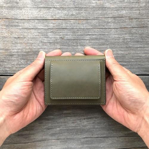 コンパクト二つ折り財布(小銭入れ外付き)