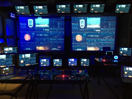 ASTRAX秘密基地宇宙船管制センター見学