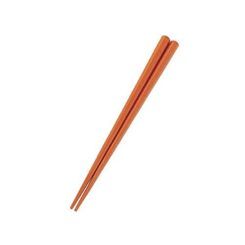 抗菌SPS六角形18cm箸 キャラメル 【OGH-2-CA】