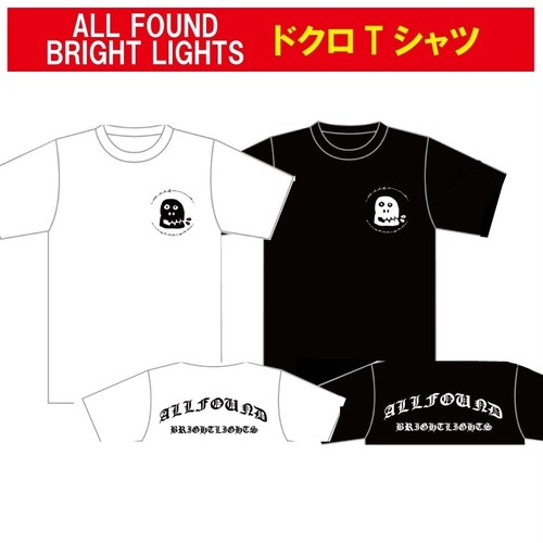 ALL FOUND BRIGHT LIGHTS ドクロ T-SHIRTS(残り僅か)
