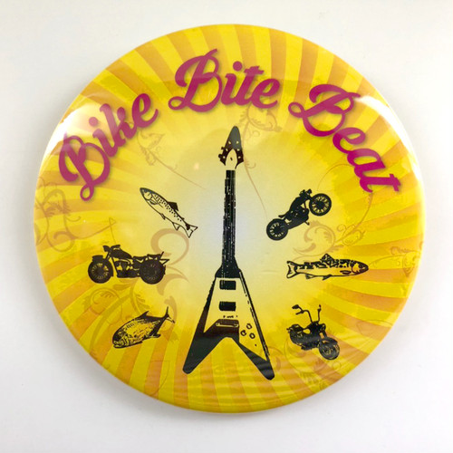 BIKE BITE BEAT BADGE(76mm)