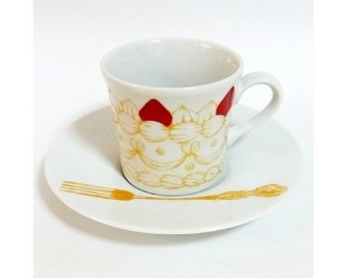 ストロベリーショートケーキ カップ&ソーサー