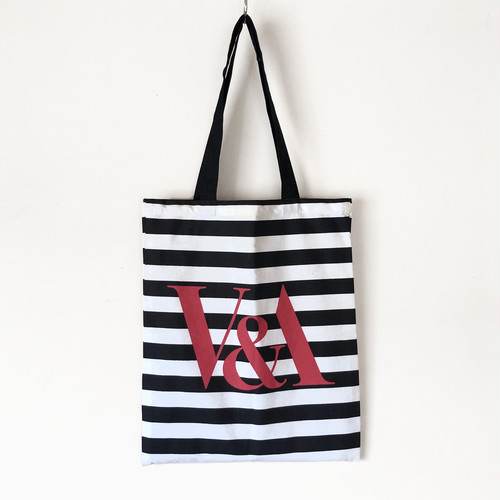 V&A design tote bag / TB-003WT