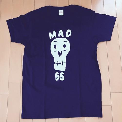 MAD55 T-Shirts BLACK
