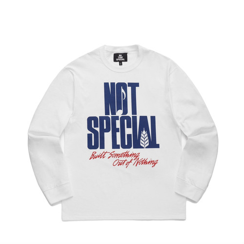 NOTHIN'SPECIAL THE WORLD LONG SLEEVE / WHITE