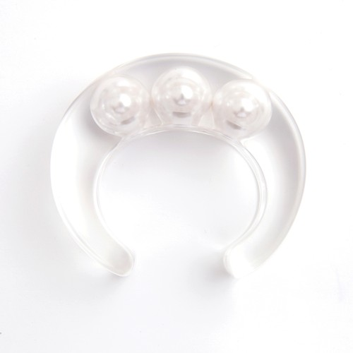 JUTIQU/ssence Bangle 6(20mm pearls×3)