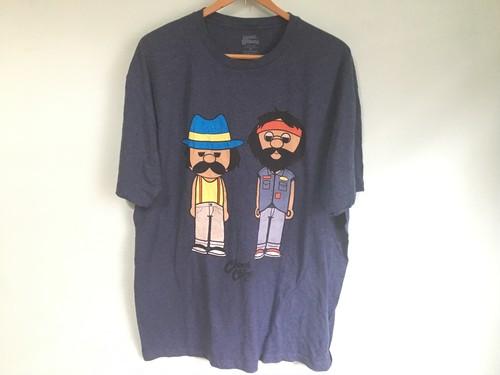 cheech & chong チーチ&チョン Tシャツ / マリファナ 70s ヒッピー