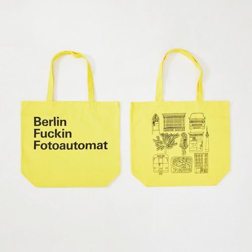Anoraks | Berlin Fuckin Fotoautomat Tote [Berlin Yellow]