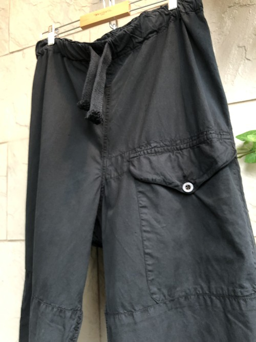 1940s British SAS over trousers overdyed black color