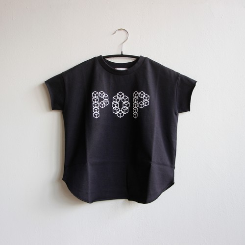 《frankygrow 2020SS》CUBE POP TEE / dark navy / S・M・L