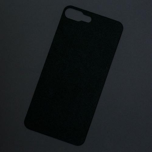 iPhone 7Plusバックプレート アルカンターラ ブラック
