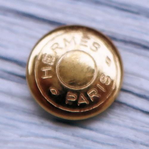 797 hermes VINTAGE (ヘルメス ヴィンテージ)セリエ デザイン ボタン ゴールド