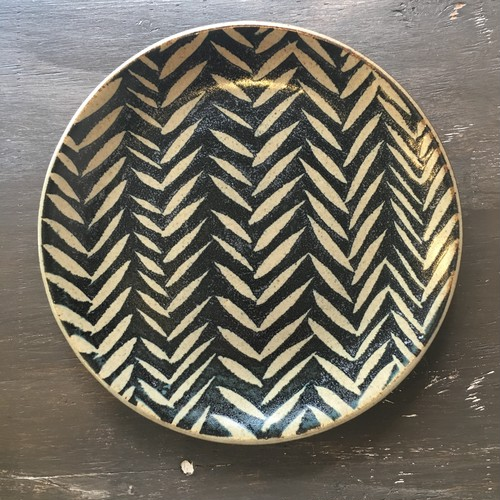 波佐見焼 sen 8.5プレート 陶器大皿